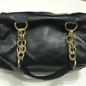 Bags - 🌸5 for $25 NWOT gold stud w/ chain strap purse